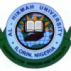 Al-Hikmah University Exam Time Table for General Studies Out